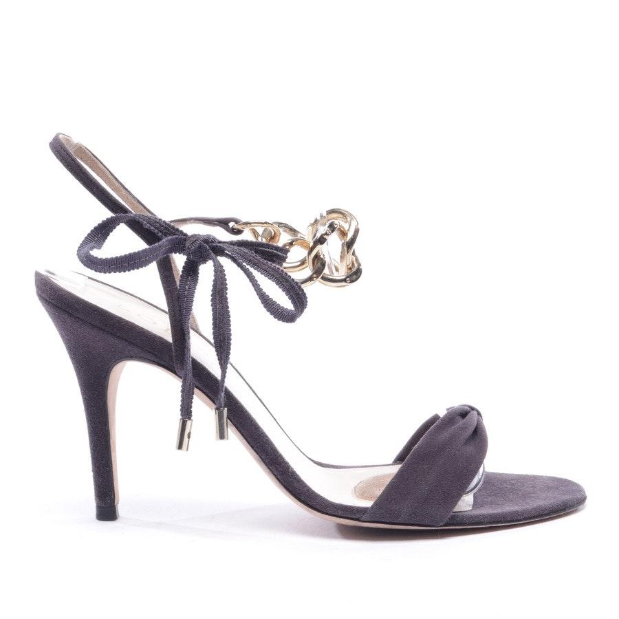 Sandaletten von Loewe in Graubraun Gr. D 38
