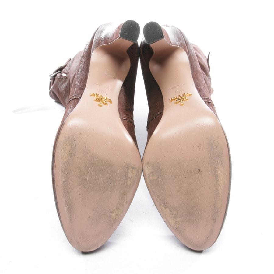 Stiefel von Prada in Dunkelbraun Gr. EUR 40,5