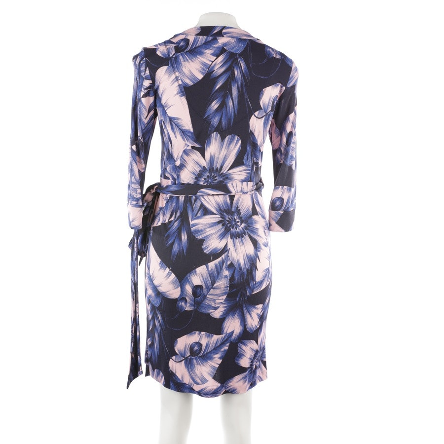 dress from Marc Cain in blue and pink size 34 N1