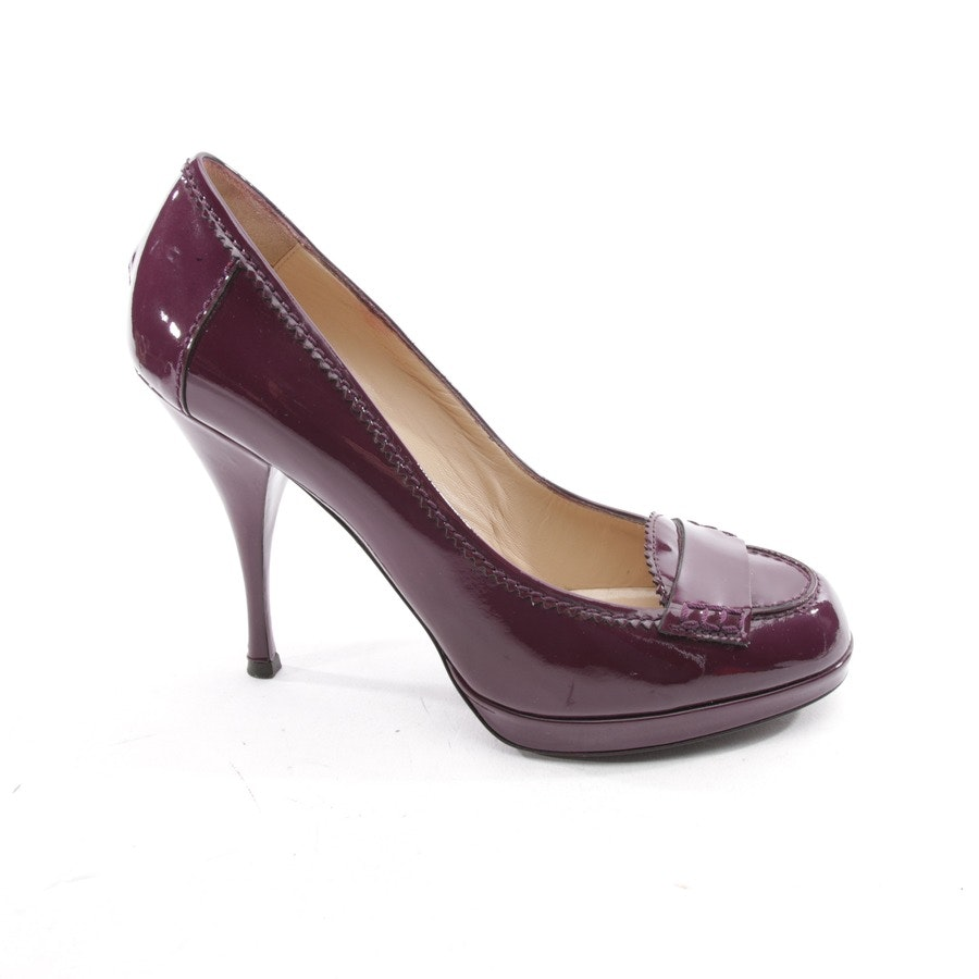 pumps from Yves Saint Laurent in eggplant size D 39,5