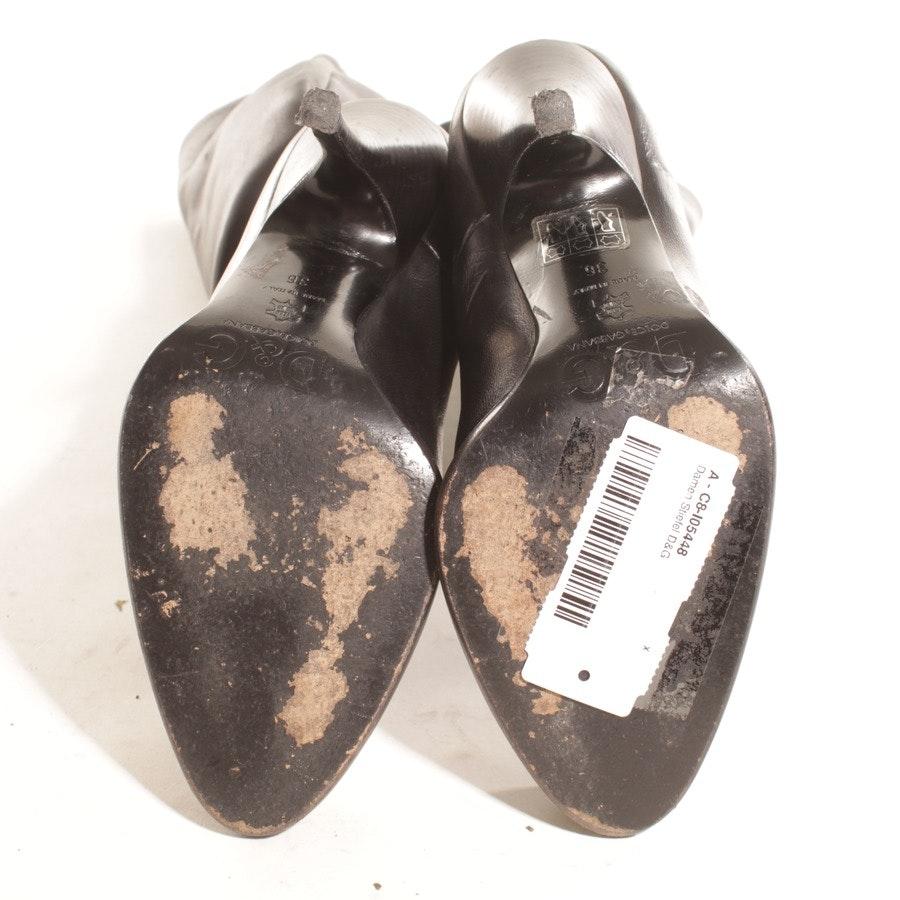 Stiefel von D&G in Schwarz Gr. D 36