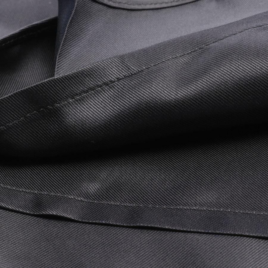 Seidenrock von Louis Vuitton in Grau Gr. 34 FR 36