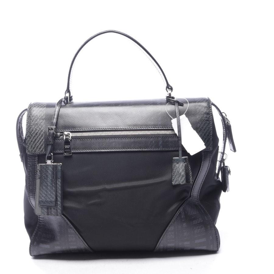 Handtasche von Prada in Grau und Schwarz