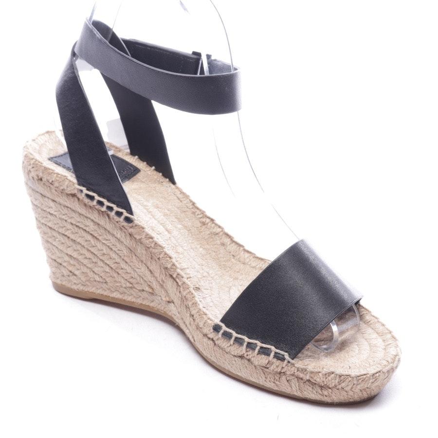 Sandaletten von Tory Burch in Schwarz Gr. D 37,5 US 7,5 - Neu