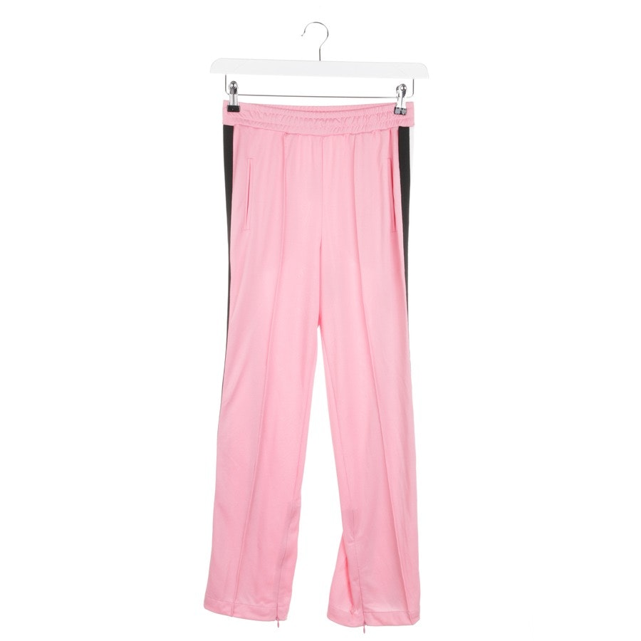 trousers from Ganni in pink and white size 34