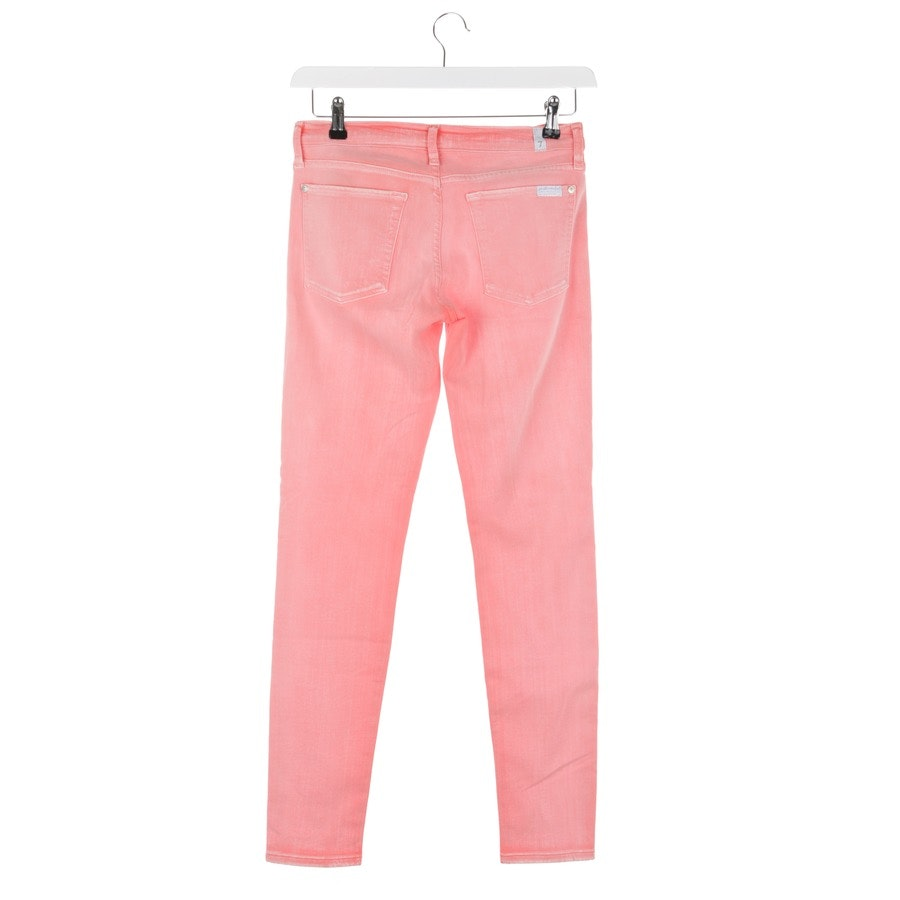 jeans from 7 for all mankind in coral red size W30 - the skinny