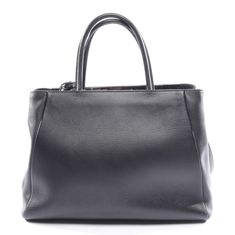 shoulder bag from Fendi in black and grey - 2jours fringed