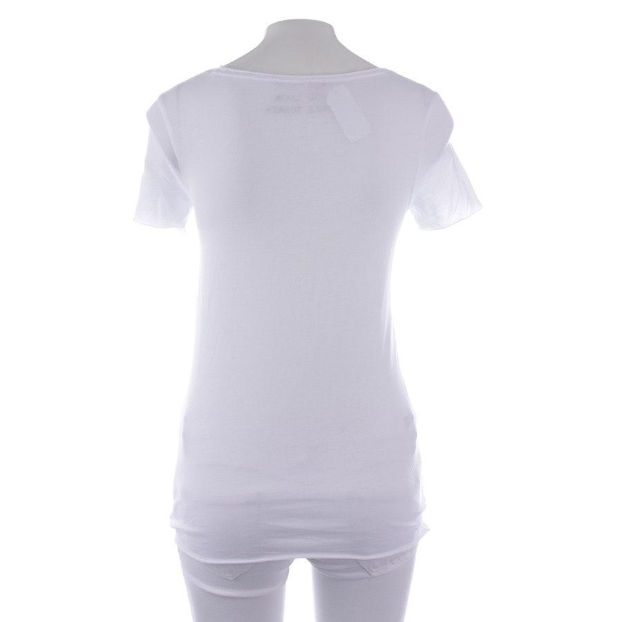 Shirt von Hugo Boss Orange in Weiß Gr. S