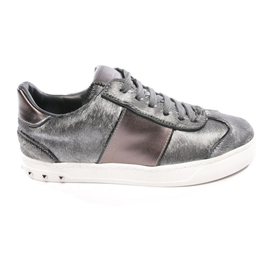 Sneaker von Valentino in Silber Gr. D 36 - Rockstud Neu