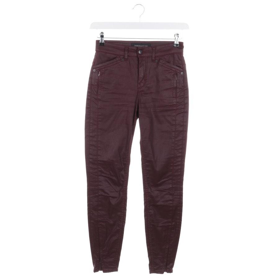 jeans from Drykorn in bordeaux size W26