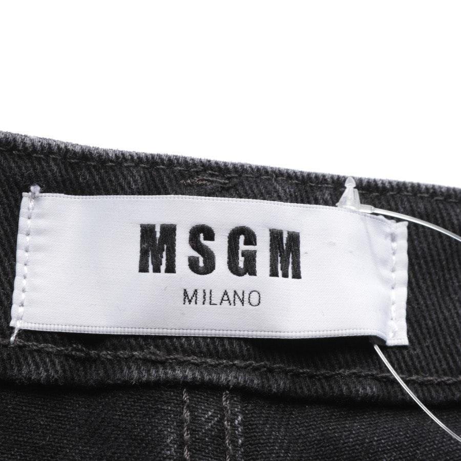 Jeans von MSGM in Dunkelgrau Gr. 34 IT 40