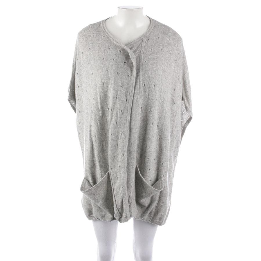 knitwear from Allude in grey mottled size One Size