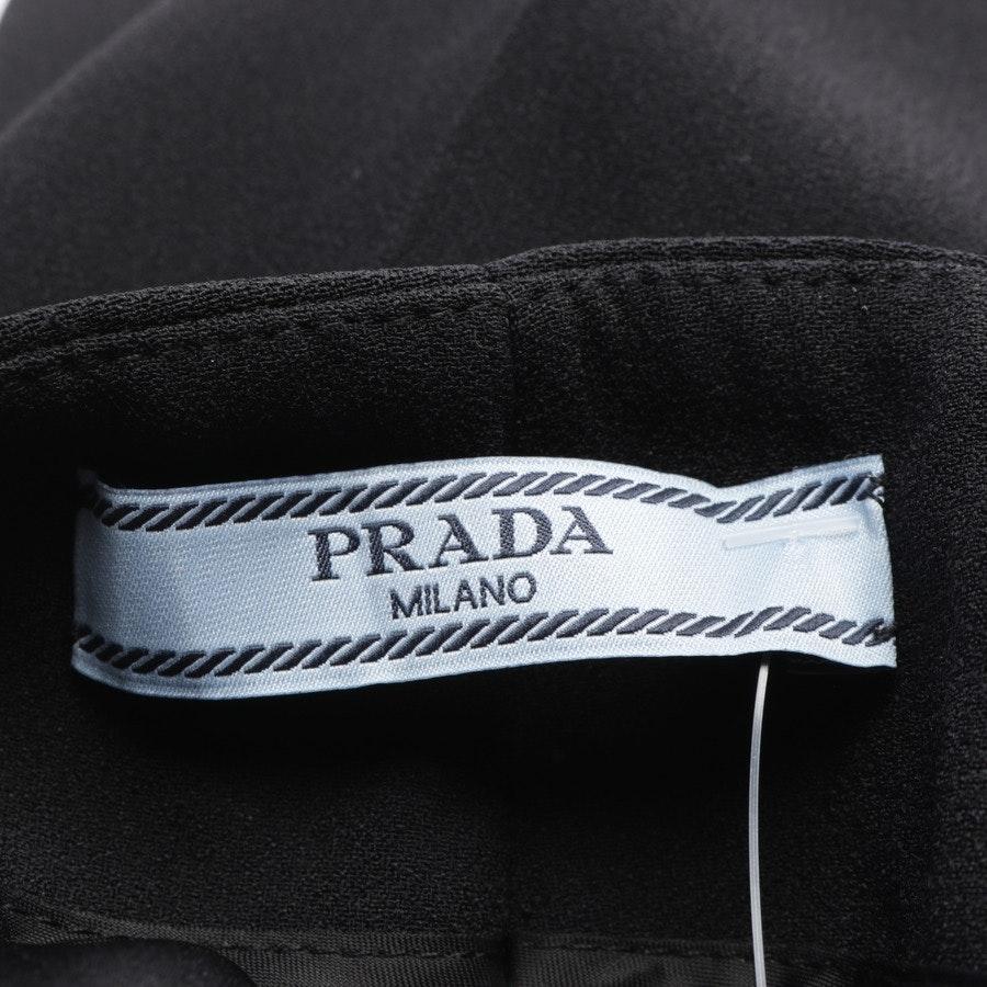 Hose von Prada in Schwarz Gr. 34 IT 40