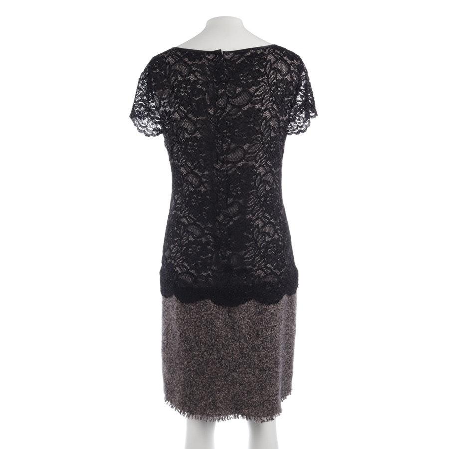 Kleid von Marc Cain in Beige meliert und Schwarz Gr. S