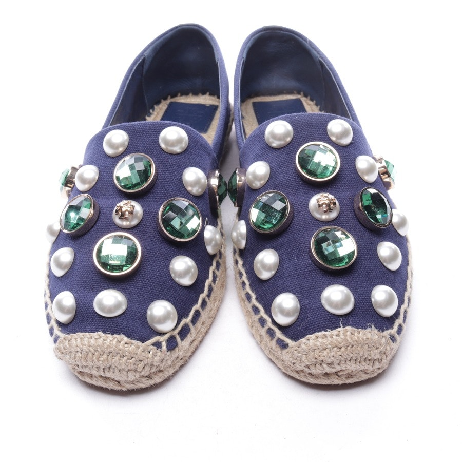 loafers from Tory Burch in dark blue size EUR 38,5 US 8