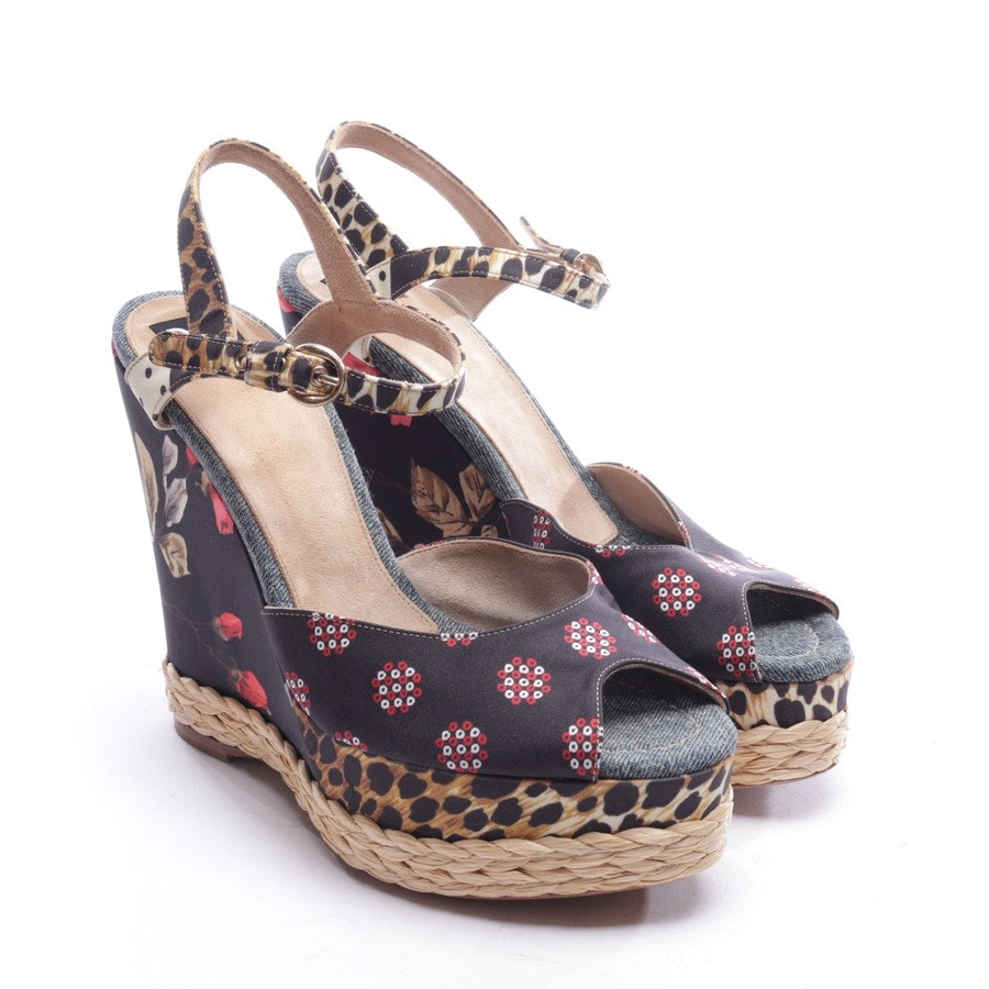 heeled sandals from D&G in multicolor size D 41