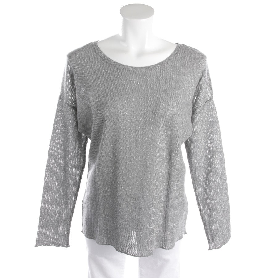 knitwear from Rich & Royal in grey size S