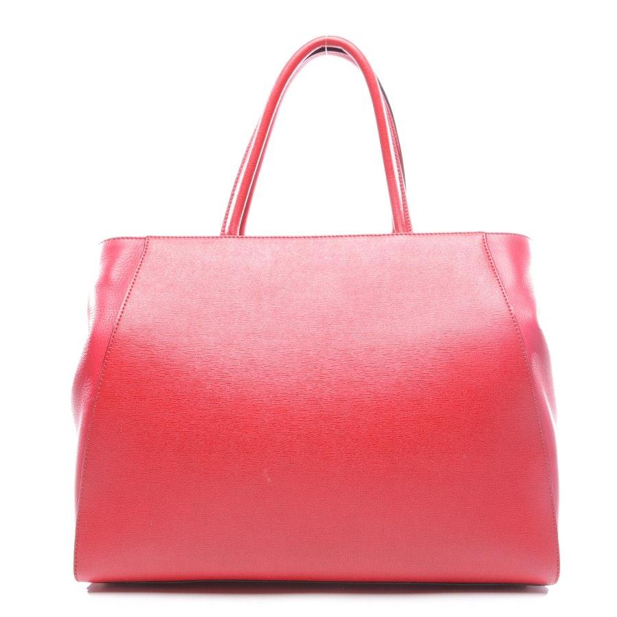handbag from Fendi in red - 2jours medium