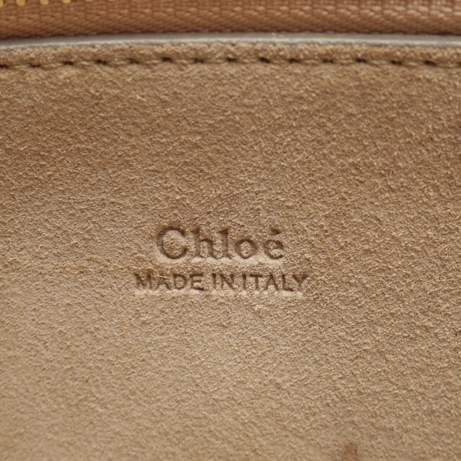 Schultertasche von Chloé in Braun - Faye medium