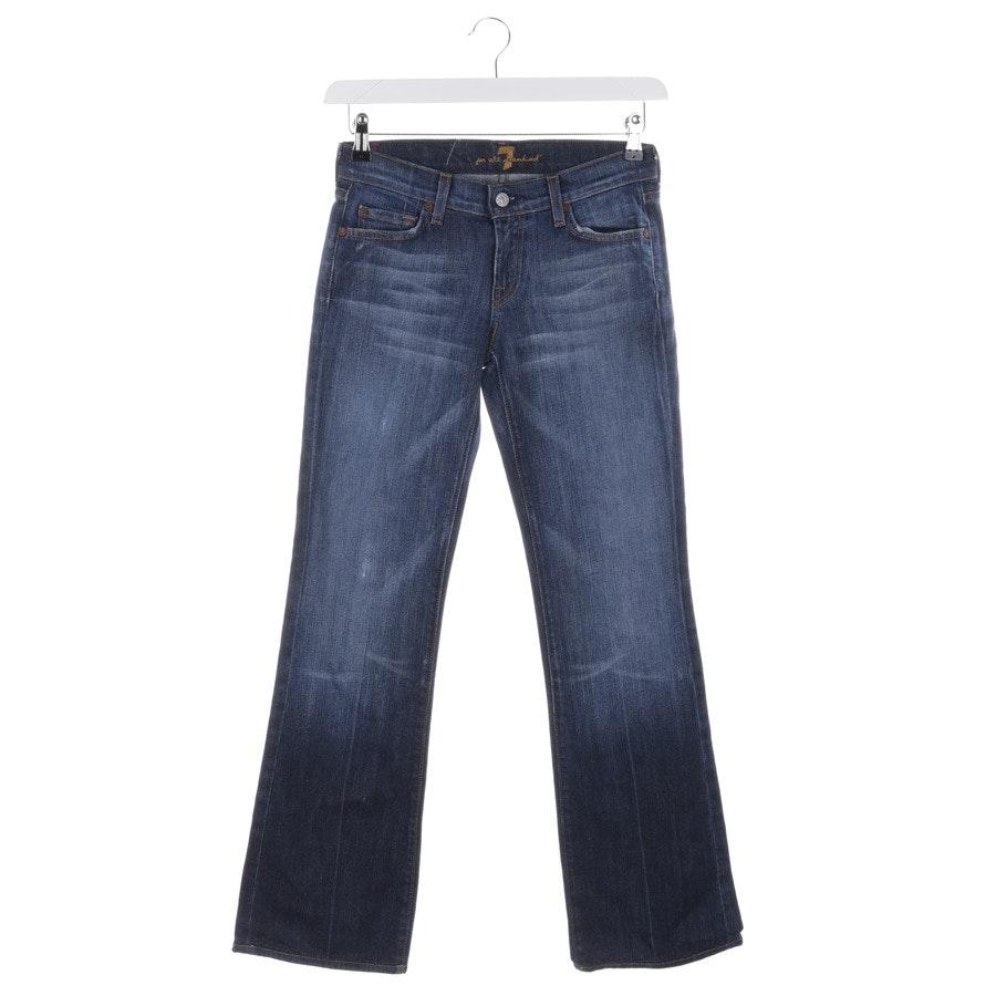 Jeans von 7 for all mankind in Blau Gr. W26 - Bootcut