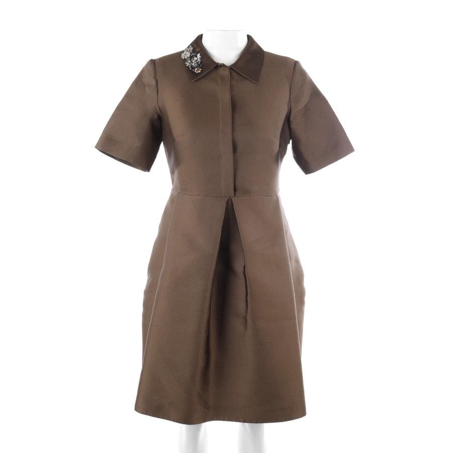 Kleid von P.A.R.O.S.H in Olivgrün Gr. M
