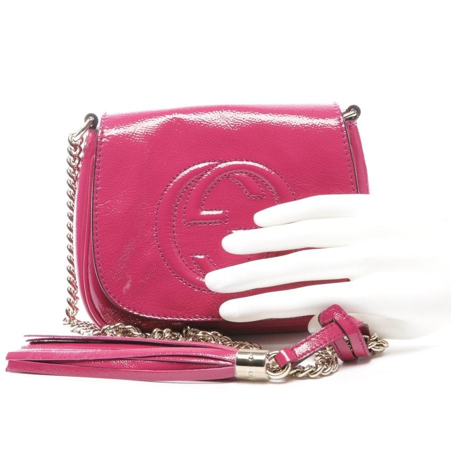 Abendtasche von Gucci in Pink - Soho Chain
