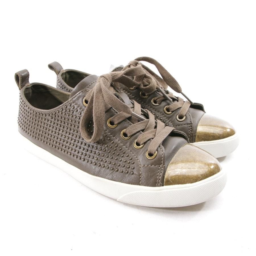 Sneaker von Coach in Braun Gr. D 37