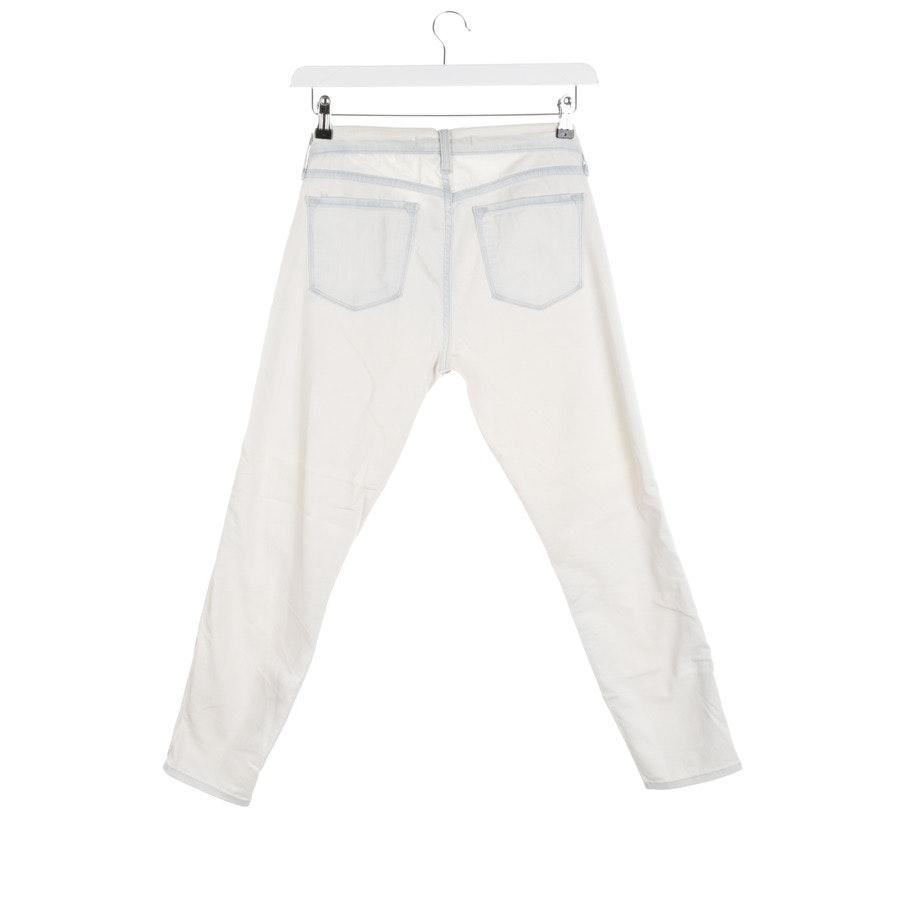 Jeans von J Brand in Cremeweiß und Blau Gr. W30