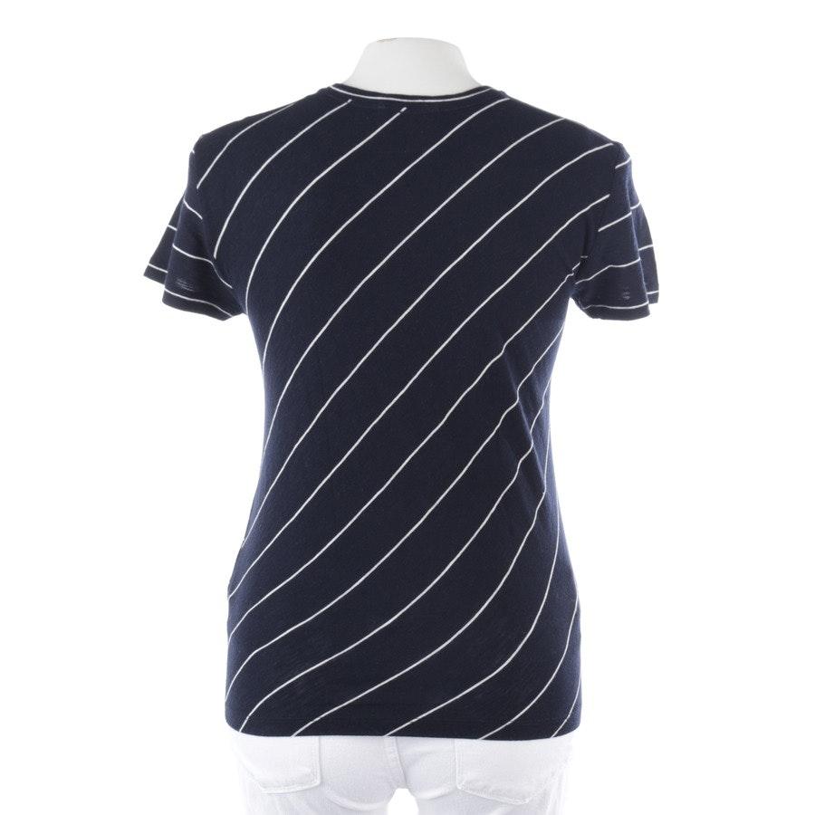 Shirt von Vince in Dunkelblau und Weiß Gr. S