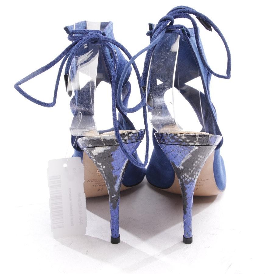 Sandaletten von Aquazzura in Blau Gr. D 37