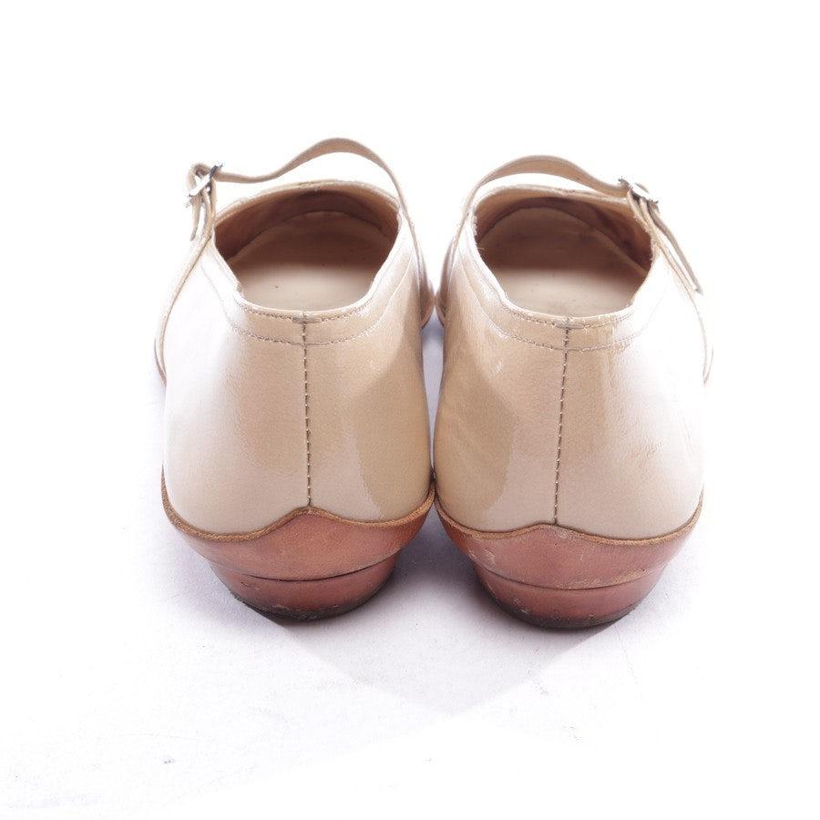 Ballerinas von Salvatore Ferragamo in Beige Gr. EUR 38,5 US 8 - Audrey