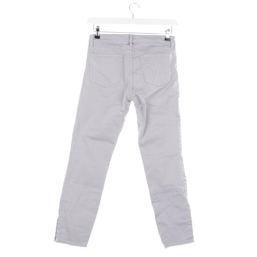 Jeans von Tory Burch in Hellgrau Gr. W28