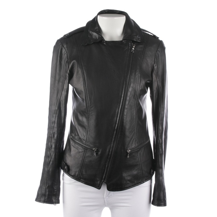 leather jacket from Oakwood in black size S