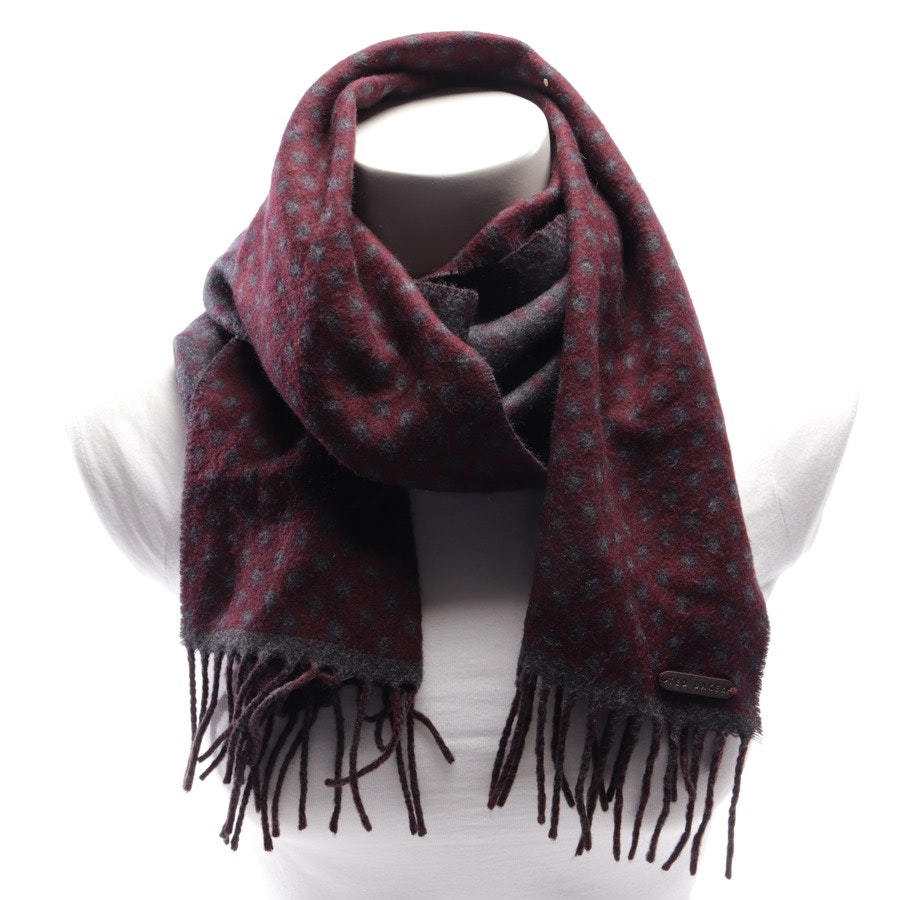 scarf from Ted Baker in aubergine and grey
