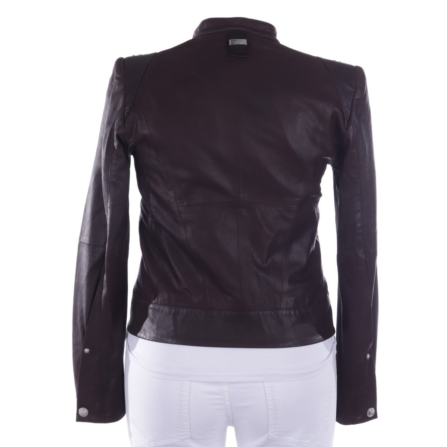leather jacket from High Use in brown size 40