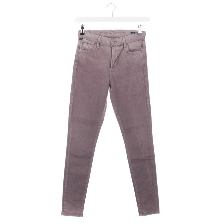Jeans von Citizens of Humanity in Aubergine Gr. W26 - Rocket
