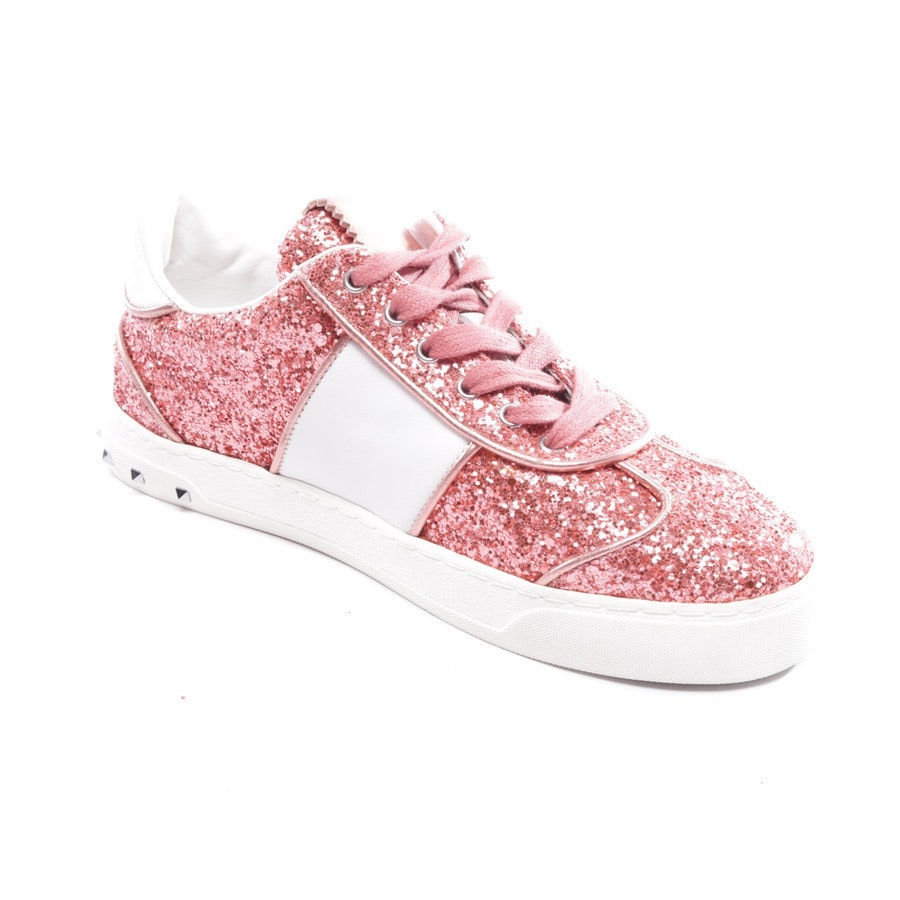trainers from Valentino in salmon pink and white size D 35 - rockstud - new
