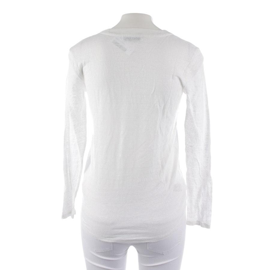 Blusenshirt von Sandro in Weiß Gr. 34 /1