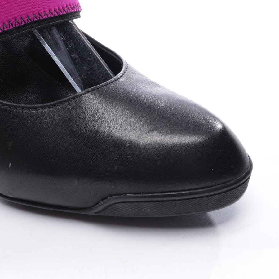 pumps from Tod´s in black and purple size D 37,5