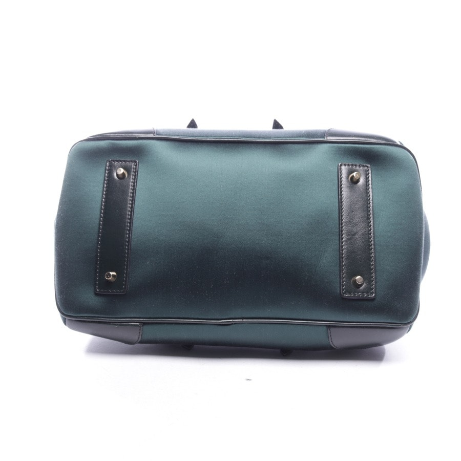 handbag from Burberry Prorsum in forest green