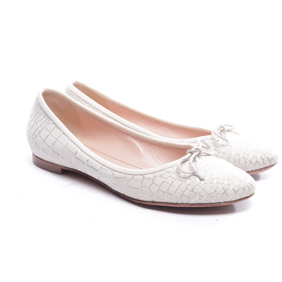 loafers from Unützer in light grey and silver size EUR 40