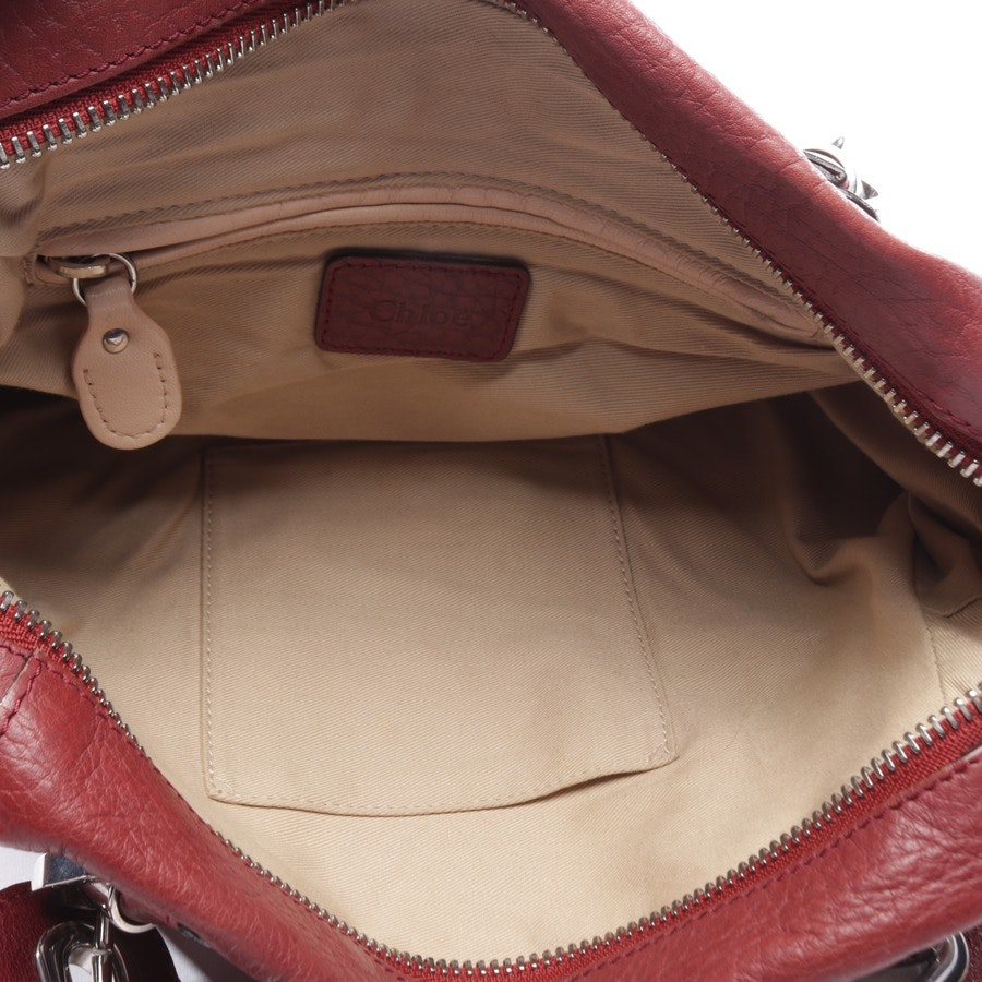 shoulder bag from Chloé in red - paraty