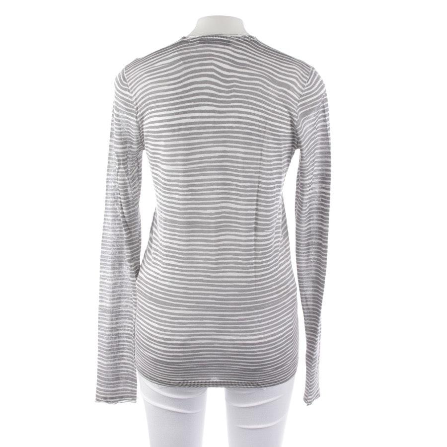 Pullover von Dorothee Schumacher in Grau und Weiß Gr. S