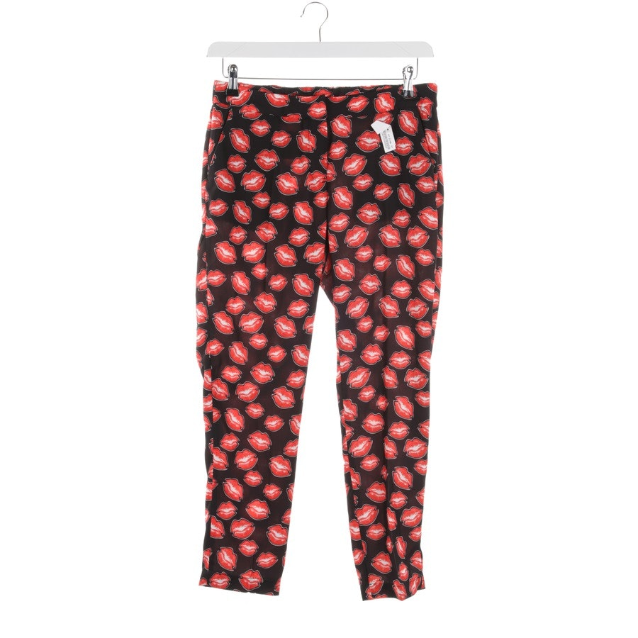 trousers from Rich & Royal in black and red size 40