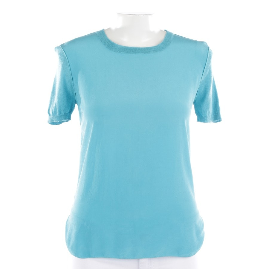 shirts from Max Mara in turquoise size S