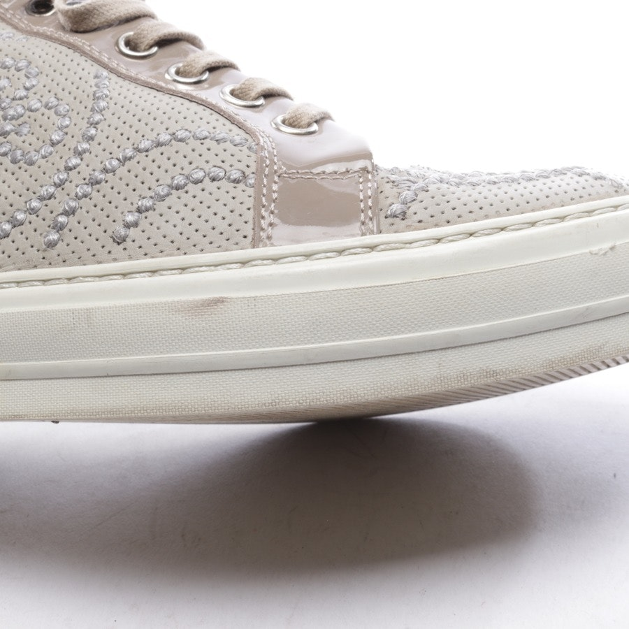 trainers from AGL Attilio Giusti Leombruni in grey-green and beige size D 37,5