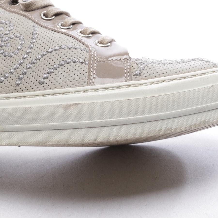 High-Top Sneaker von AGL Attilio Giusti Leombruni in Graugrün und Beige Gr. D 37,5