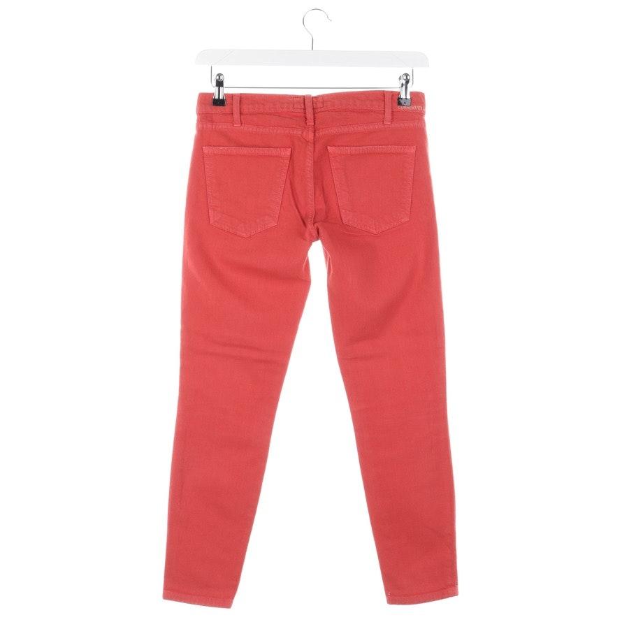 Jeans von Current/Elliott in Korallenrot Gr. W27