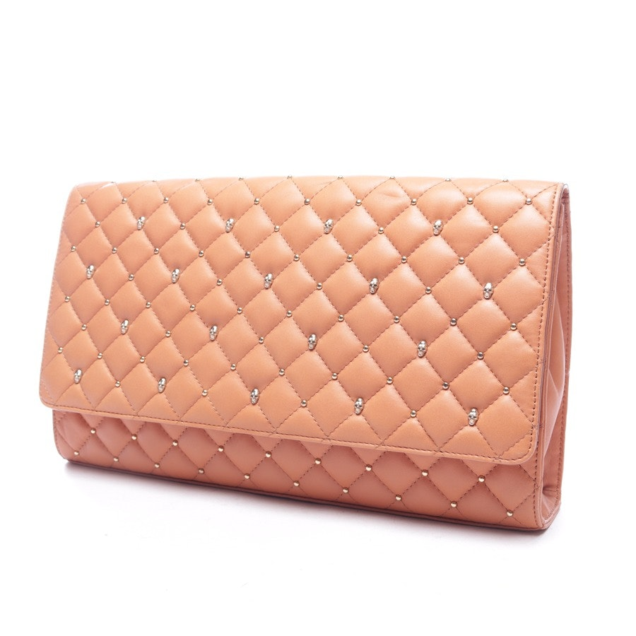 clutches from Thomas Wylde in caramel - new