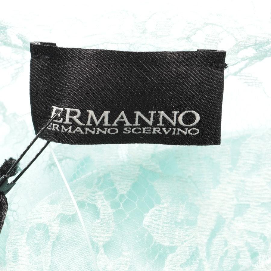 Leinenkleid von Ermanno Scervino in Türkis Gr. 38 IT 44 - Neu